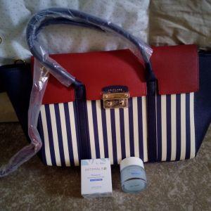 Τσάντα Linnea premium handbag Oriflame με δώρο την κρέμα