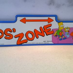 The Simpsons πινακίδα