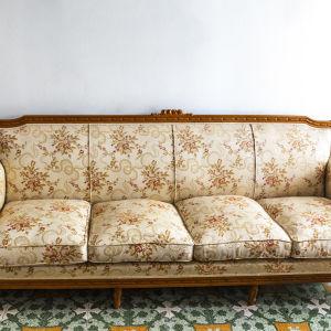 Καναπές 4θεσιος 2 πολυθρόνες 2 καρέκλες