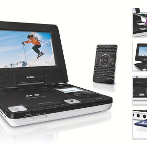 Portable DVD Player with iPod docking