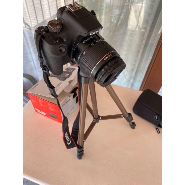 Canon 2000d kit mazi me tripoda ke thiki gia to fako
