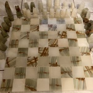 Σκακι καινουργιο απο ονυχα