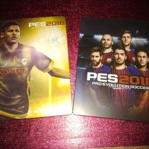 Pro 2018 & Pro 2016 Steelbooks (PS4)