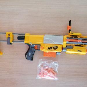 2 NERF N-STRIKE - Recon CS 6 + Πιστόλι (ΕΞΤΡΑ ΣΦΑΙΡΕΣ)