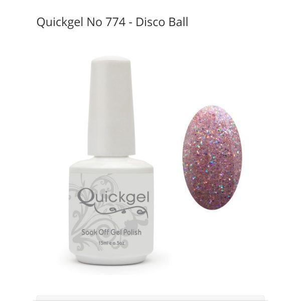Quickgel No 774 Disco ball 7,5ml