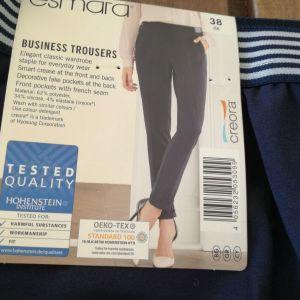 Παντελόνι ESMARA, μεγέθους 38, χρώματος μπλε σκούρο (business wear)