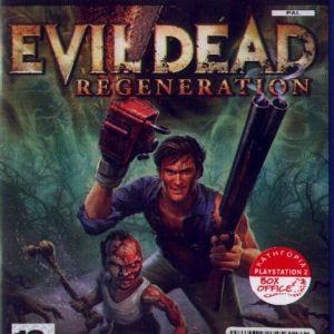 EVIL DEAD:REGENERATION - PS2