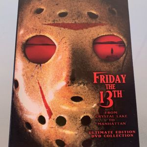 Friday the 13th ultimate edition dvd collection 5 dvd