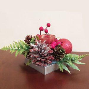 Χριστουγεννιάτικα  χειροποίητα  επιτραπέζια σετ τασάκια με reso