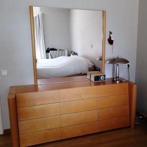 Συρταριέρα κρεβατοκάμαρας με καθρέφτη & 12 συρτάρια - μασιφ ξύλο εξαιρετικής ποιότητας