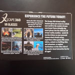 Xscape 360 VR GLASSES. Γυαλιά εικονικής πραγματικότητας