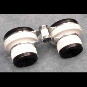 """USSR """"Owl Eyes"""" 2.3 x 40 Binoculars W/Case"""