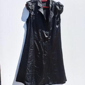 Σατέν Μαύρο Φόρεμα