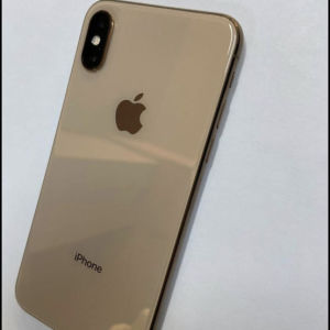 iPhone XS gold 256