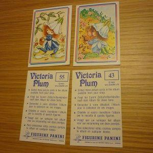 αυτοκόλλητα Victoria Plum Panini