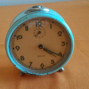 Ρολόι ξυπνητήρι επιτραπέζιο Blessing WEST GERMANY, κουρδιστό. Πλήρως λειτουργικό.