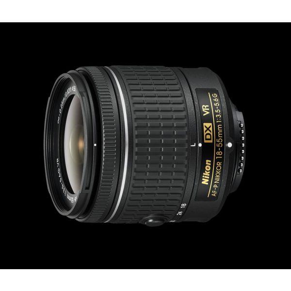 Nikon AF-P DX Nikkor 18-55mm 3.5-5.6G VR (Nikon F) vgalmenos apo kit.