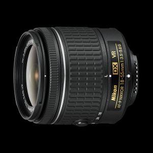 Nikon AF-P DX Nikkor 18-55mm 3.5-5.6G VR (Nikon F) βγαλμένος απο κιτ.