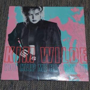 "KIM WILDE - YOU KEEP ME HANGIN' ON  12"", 45 RPM, Single 1986 MADE IN AUSTRALIA"
