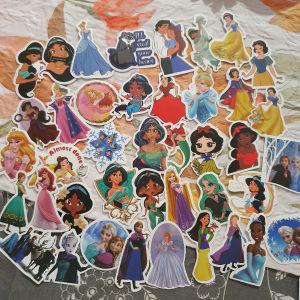 40 Disney princess stickers
