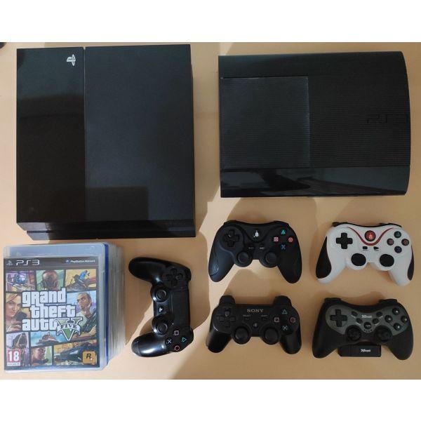 PS4 + PS3 Slim
