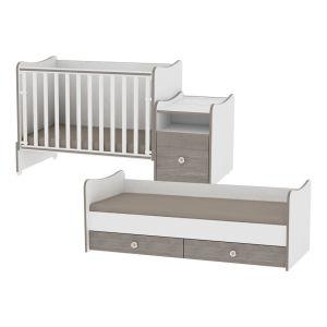 Πολυμορφικό σετ κρεβάτι κούνια bebe-παιδικό