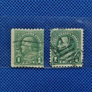 Γραμματόσημα. FRANKLIN  1CENT
