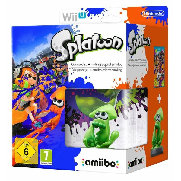 Splatoon 1 Special Edition Collector's gia Wii U