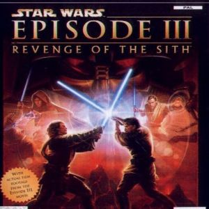 STAR WARS EPISODE 3 REVENGE OF THE SITH - PS2