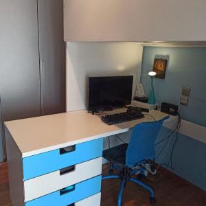 Παιδική κουκέτα - γραφείο - ντουλάπα