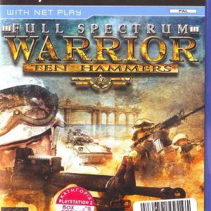 FULL SPECTRUM WARRIOR TEN HAMMERS - PS2