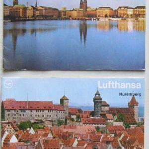 Δυτ. Γερμανία - χάρτες + ταξιδ. φυλλάδια (δεκαετίας 1980)