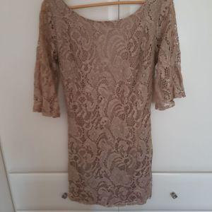 Φορεμα μινι αφορετο δαντελα απο boutique λιανικη τιμη 85 ευρω