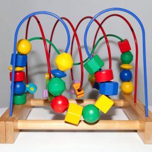 Ξύλινο Εκπαιδευτικό παιχνίδι (IKEA)