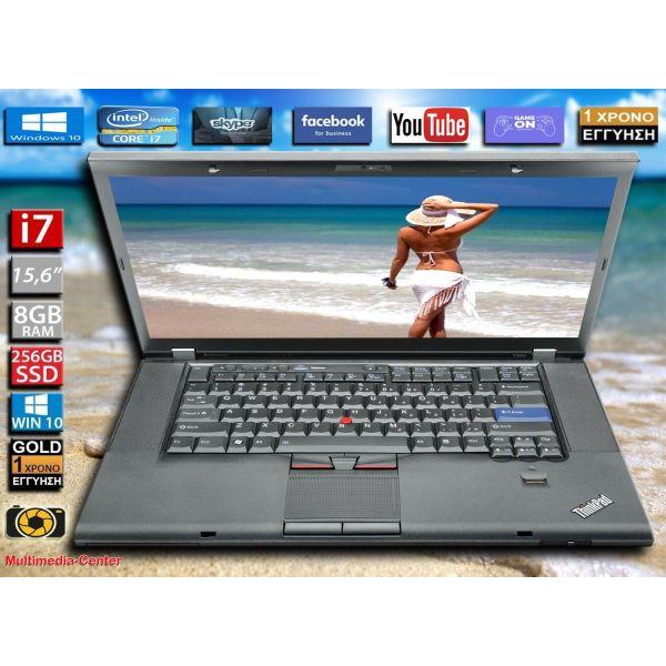 Lenovo ThinkPad T520 / i7-2620M / 8GB RAM / 256 SSD / KAMERA / nVidia NVS 4200M / othoni: 15.6