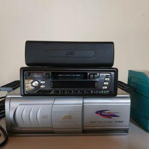 JVC Radio, Cassete (KS-FX12), Cd-player/changer ραδιοκασσετόφωνο αυτοκινήτου, κασσετόφωνο, κασετόφωνο