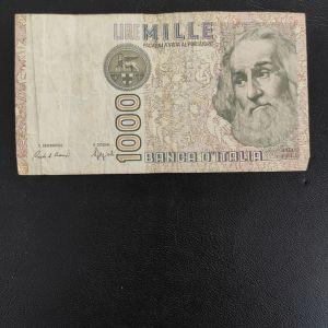 ΙΤΑΛΙΑ 1000 ΛΙΡΕ 1982