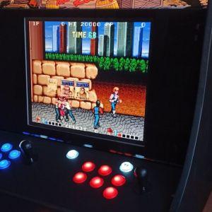 Arcade καμπίνα, πολυπαιχνιδο  retro games. κονσολα bubble bubble