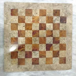 Μαρμάρινο  ταμπλό  σκακιού  ,χωρίς πιόνια,σε πολύ καλή κατάσταση.
