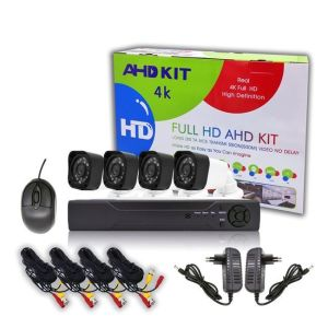 Clever SecurityCam-Σετ 4 κάμερες με Διαδικτυακό Kαταγραφικό DVR FULL AHD-Νυχτερινής Λήψης-Αδιάβροχες+ΔΩΡΕΑΝ Εφαρμογή