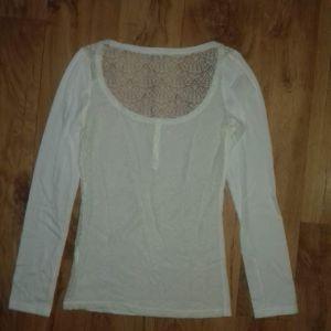 μπλούζα με πλάτη δαντέλα xS/S/M
