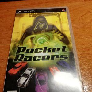"""Πωλείται κασέτα για psp """"pocket racers"""""""