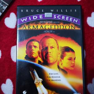 "DVD ""Armageddon"" αυθεντικό με ελληνικούς υπότιτλους"