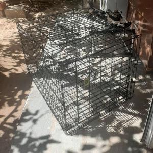 μαυρο κλουβί σκυλου crate