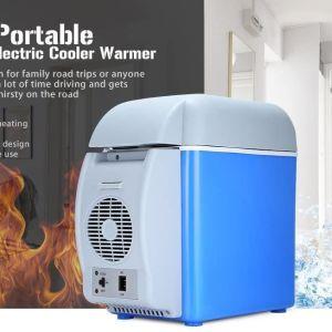 32Ε    7.5L Mini Car Ψυγείο Φορητό Θερμοηλεκτρικό