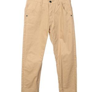 Μπεζ ανδρικό παντελόνι S