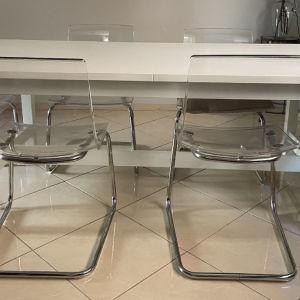τραπεζαρία κ 6 καρέκλες