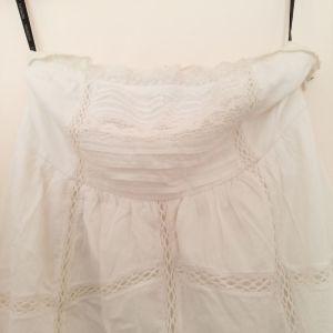Άσπρο φόρεμα Morgan