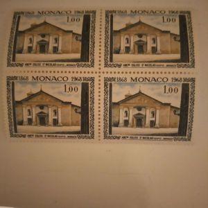 Γραμματοσημα  ΜΟΝΑΚΟ 1968  20 ΤΜΧ