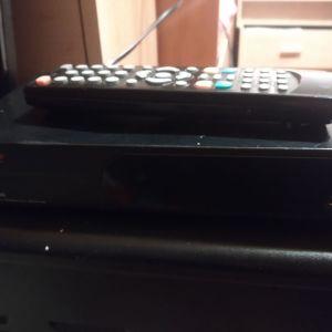 """TV PHILIPS 19"""" LCD & αποκωδικοποιητής elite"""